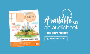Text Dependent Question audiobook ad