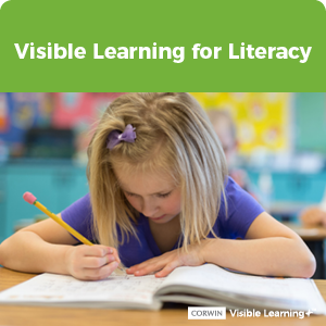 Visible Learning for Literacy
