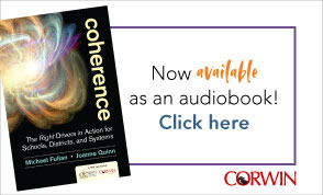 Fullan Book - Now available as an audiobook! Click here