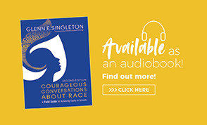 Audio Book Ad Courageous Conversations About Race