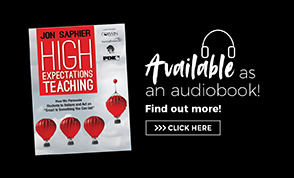 Audio Book Ad High Expectations Teaching