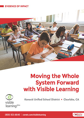 Moving the Whole System Forward with Visible Learning