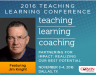 Teaching | Learning | Coaching 2016