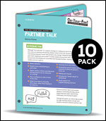 BUNDLE: Clarke: The On-Your-Feet Guide to Partner Talk: 10 Pack