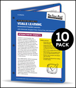BUNDLE: Almarode: The On-Your-Feet Guide to Visible Learning: Assessment-Capable Learners: 10 Pack