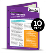 BUNDLE: Almarode: The On-Your-Feet Guide to Visible Learning: Assessment-Capable Teachers: 10 Pack