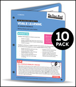 BUNDLE: Clarke: The On-Your-Feet Guide to Visible Learning: In-Lesson Feedback: 10 Pack