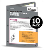 BUNDLE: Lent: The On-Your-Feet Guide to Disciplinary Literacy in Science: 10 Pack