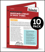 BUNDLE: Lent: The On-Your-Feet Guide to Disciplinary Literacy in Social Studies: 10 Pack