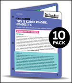 BUNDLE: Fisher: On-Your-Feet Guide: This is Guided Reading, Grades 3-5: 10 Pack