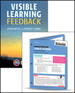 BUNDLE: Visible Learning Feedback + On-Your Feet Guide to Visible Learning: In-Lesson Feedback