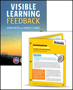 BUNDLE: Visible Learning Feedback + On-Your-Feet Guide to Visible Learning: Student-Teacher Feedback