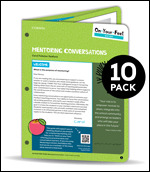 BUNDLE: Radford: On-Your-Feet Guide: Mentoring Conversations: 10 Pack