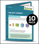 On-Your-Feet Guide: The SOLO Taxonomy: 10 Pack
