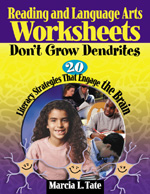Printables Worksheets Don T Grow Dendrites reading and language arts worksheets dont grow dendrites 20 literacy strategies that engage the