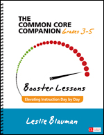 The Common Core Companion: Booster Lessons, Grades 3-5
