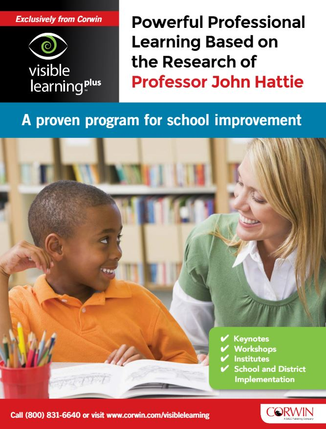 Download the Visible Learning Plus program brochure